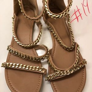 Charlotte Russe Sandals, size 9
